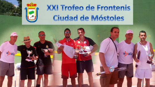 Abalia Entrega Premios Torneo Frontenis