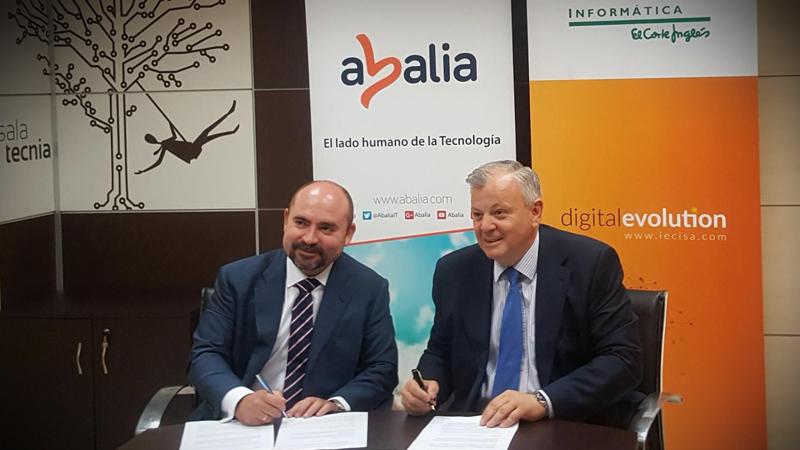 Abalia e IECISA firman un acuerdo para poner en marcha un Centro de Gestión de Servicios TI