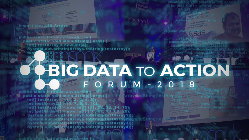Abalia en el evento Big Data to Action 2018