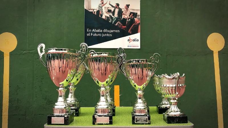 Abalia patrocinador del XXII Trofeo Frontenis Cuidad de Móstoles