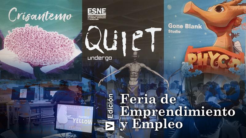 Abalia en V Feria de Emprendimiento y Empleo ESNE