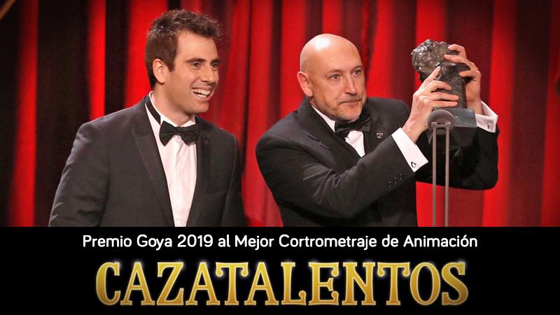 Abalia en la fiesta de celebración de nuestro Partnet ESNE por el Goya al Mejor Cortometraje de Animación