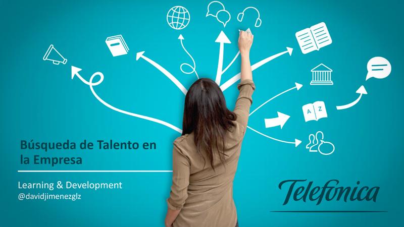 "Abalia en la Masterclass de David Jiménez de Telefónica, ""Búsqueda de Talento en la Empresa"""