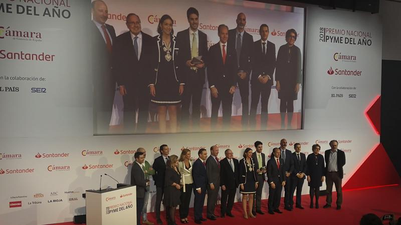 Abalia en los Premios Pyme Nacional 2018
