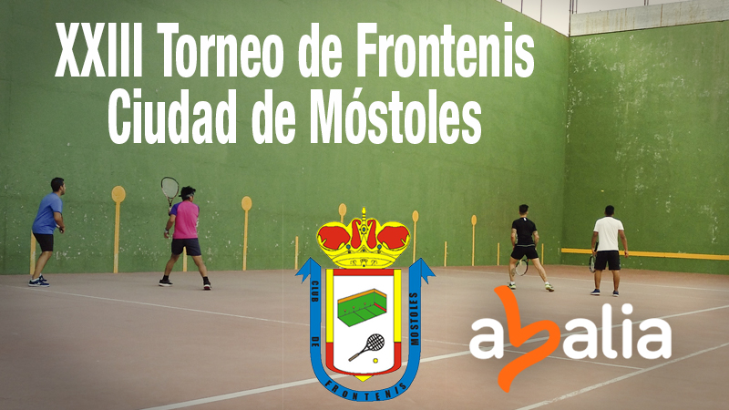 Abalia patrocina el XXIII Torneo de Frontenis de Móstoles