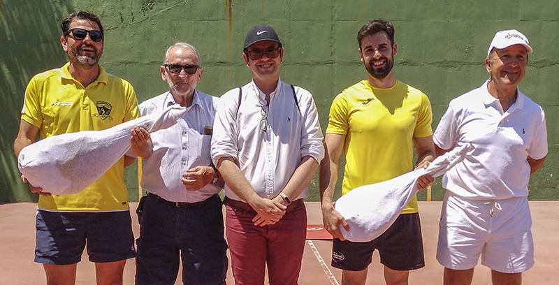 Ganadores Primer Premio: Iván Lorenzo y José Manuel Herrador – Club Fuensalida (Rivas)