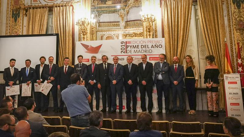 Abalia invitada a los Premios Pyme 2019 en Madrid