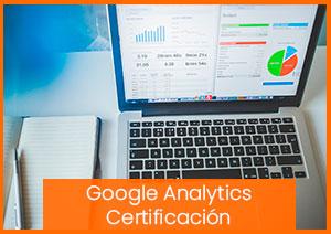 Formación presencial y online en Google Analytics